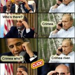 """@AHMalcolm: Obamas very short Ukraine phone conversation with Russias Putin. #CPAC2014 #tcot http://t.co/yZDvfzB3YZ"" "