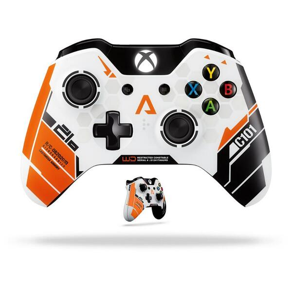 Follow us & RT to win an #XboxOne #Titanfall Controller! Don't forget our launch events on 3/10. #MSFTgaming http://t.co/kBxeNpwR9l
