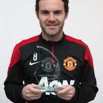 Juan Mata terpilih sebagai Manchester United Player of the Month - February 2014. Felicitaciones, Juan! #mufc http://t.co/0ViIQuHUjo