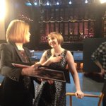RT @jennifer_k_long: Why is @lenadunham so excited? @SavannahGuthrie tells you tmrw on @todayshow! #SNL #Girls