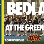 .@CowgirlTennis hosts @CollegeMatchDay Sunday! Fan Experience begins at 11am, followed by Bedlam at 1pm! #okstate http://t.co/Mq7fLdllwe