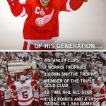 Tonight...@DetroitRedWings retire No.5! #Legend http://t.co/QLQzkhVmdu