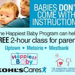 RT @NOLAMomsBlog: Hey #NOLA moms :: check out these FREE Happiest Baby classes! CC: @AngelinaNicole http://t.co/OP5aZHqZiN