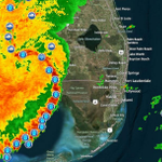 RT @PBCountySheriff: Be Safe Everyone RT @CBS12: Bow echo line of severe storms advancing toward South Florida at 40-50 mph. ETA is 3 p.m. http://t.co/EfhRfSaXWm