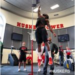 RT @HuskerFBNation: Jason Ankrah getting up for #Huskers ProDay. #GBR http://t.co/EQzckoH22r