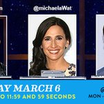 RT @ComedyCentral: Tonights @midnight comedian contestants are @DougBenson, @MichaelaWat and @RobHuebel. http://t.co/mYVpRdUA1t