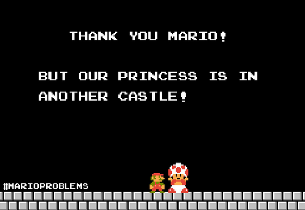 GameStop, Inc. (@GameStop): #MarioProblems http://t.co/lXJ7y9ilBF
