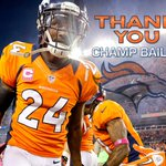 "RT @Broncos: John Elway: ""Champ will always be a Bronco."" #Broncos Country, what are your favorite Champ Bailey memories? http://t.co/haepXY2eLv"