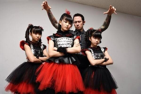Just hearing about @BABYMETAL_JAPAN, rest of the world? These kids rock! http://t.co/QD52wWZkvZ