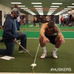 Taylor Martinez doing broad jump for #Huskers ProDay. http://t.co/FphKC3MbIH