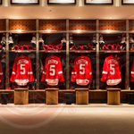 RT @NHL: RT @DetroitRedWings: The #RedWings will wear these beauties tonight for warmups! #LidstromNight http://t.co/Z9DjamMd7p