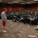 RT @HuskerFBNation: .@NEB_FB_VIDEO from earlier today, orientating the NFL Scouts for #Huskers ProDay. http://t.co/w260hsS2a7