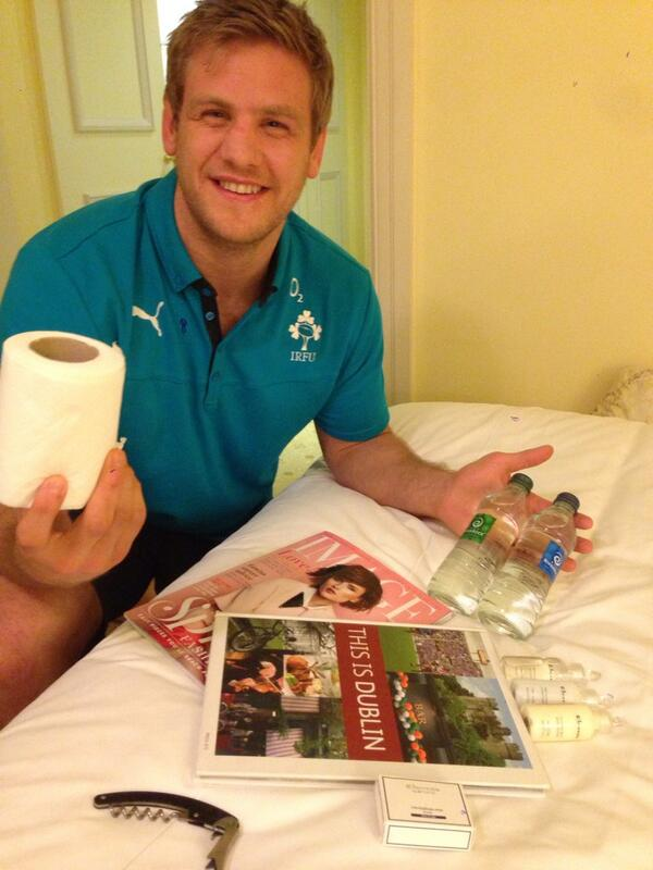 @BrianODriscoll @theshelbourne that's nothing! look what chad got for his 13th cap! @chrishenry678 http://t.co/quE5hoCgGv