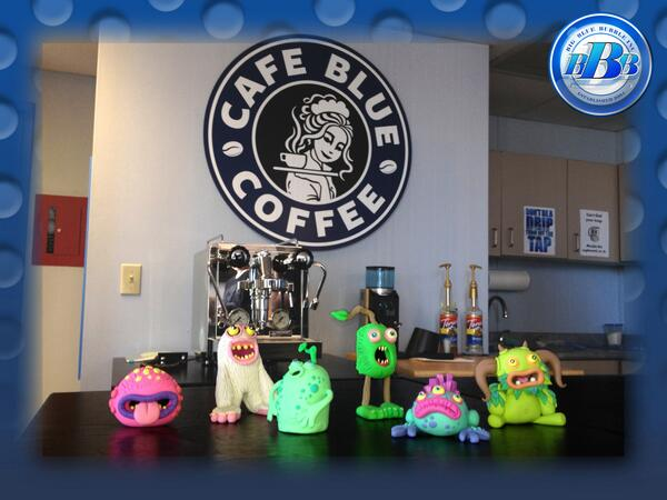 Welcome to Cafe Blue Coffee! BBB celebrates its new all-purpose cafe with exclusive @SingingMonsters @LittleLazies! http://t.co/SLcbT1F1Ts
