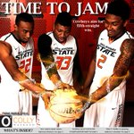 Fridays issue is finished. The last season game for mens basketball is near, and its going to be fierce. http://t.co/pAn2GJXF1r