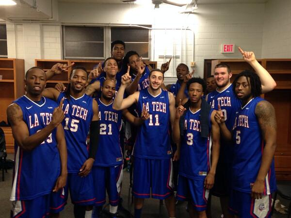 Conference CHAMPS!! #DunkinDogs #WeAreLATech http://t.co/KcP0DkdA6O