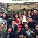 """@kayeangelii: Last last take for Got to Believe. *sniff sniff ☺️ http://t.co/ks4QlZX5SK"" #WeWillMissGotToBelieve ~Mhicz"