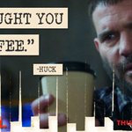 """@ScandalABC: #WhatTheHuck http://t.co/6rbdDMAOdj"" leave it to Huck to weird things up lol.... Love you Huck"