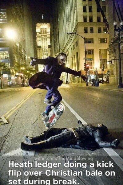 Rare pic of Heath Ledger: http://t.co/BfcgYvia7O