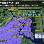 #Winter Weather Advisory has just been issued for the Metro Area for Sleet & Freezing Rain Fri AM. @wusa9 @ericagrow http://t.co/2ajvCxVyAZ