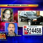 RT @HellgrenWJZ: #AmberAlert: Tim Virts dad: I love my son but my granddaughter shouldnt have to pay the price. @cbsbaltimore http://t.co/31v9fiWcaT