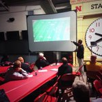 Late night with Tim Beck. #Huskers http://t.co/3p3QZ7WHpp