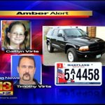 RT @BeBreezyMan: Baltimore/Dundalk/Essex/Rosedale etc. stay alert. Lets get this little girl back home. #AmberAlert http://t.co/nkaxOiGgfB