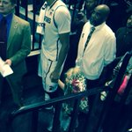 RT @CoachVork: AP and Princess Lacey on Senior Night. #courage http://t.co/MIidTBTNJB