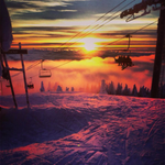 Inspiration to get out to the mountains? Sunset @Mt_Seymour #Vancouver by Cole Byrd. http://t.co/LQp2Mriqhk