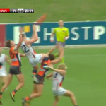 What a grab this was from Patrick Dangerfield! #gocrows http://t.co/HAapBsDHFM
