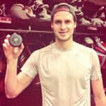 RT @phoenixcoyotes: OEL proudly holds the puck with which he scored tonight to earn his 100th @NHL point. Hes only 22 years-old. http://t.co/dvJ3wza5ih