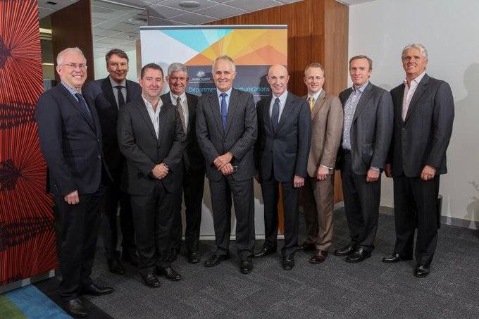 With telco CEOs attending our first Ministerial Advisory council today #commsau http://t.co/IWKpEFOvW0