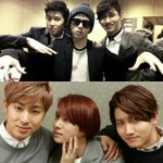 Heechul and TVXQ in 2012 and 2014 ♥♥♥ http://t.co/Ub0AnDOhsB