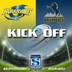 Kick Off: @Hurricanesrugby v Brumbies #SuperRugby #HURvBRU #PlayYourPart http://t.co/rrZeuBoHlw