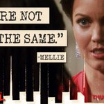"RT @ScandalABC: ""We are not the same.""-Mellie #Scandal http://t.co/vSn532DPwq"