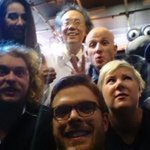 RT @JonoAndBen: If only Guys arm was longer. Worst Photo Ever. #JABAT #NotOscarsObviously http://t.co/TITQpHq2iO