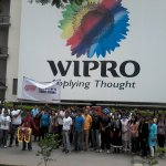 Glimpse of #Walk14 @Wipro #walkathon #womensday