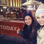 RT @mhalling2300: First in line @TODAYshow! can't wait! (: #todayplaza