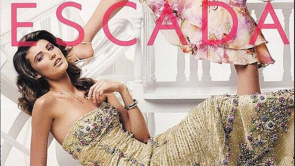 #flashbackfriday in a #FashionFriday so let's have a look at this .@ESCADA campaign I shot in 2005 and #FF them! ;) http://t.co/zialhyVnCH