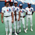 Gary Carter, Andre Dawson, Steve Rogers, Tim Raines and Al Oliver in 1982: http://t.co/jQvMxZoMlg