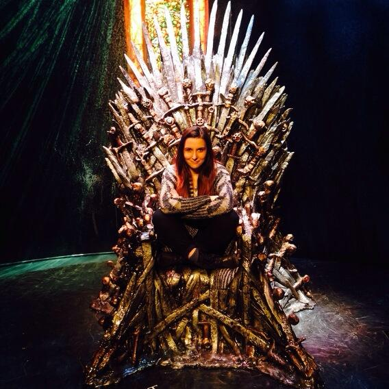 I will do what queens do. I will rule. #gotexhibit #sxsw http://t.co/mZyB0347jV