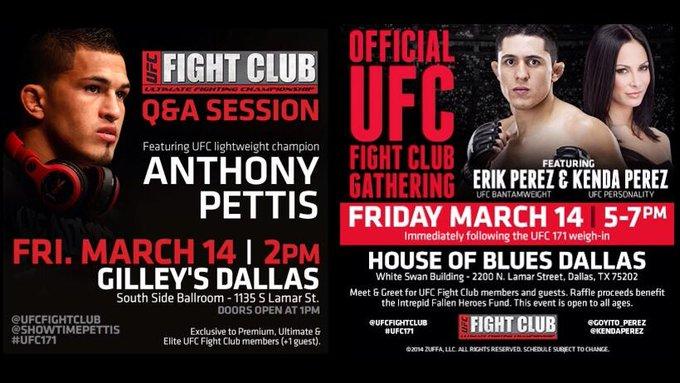 @blueandsilver19 Weigh-ins are open to the public! Open workouts on 3/12 @ Gilley's Dallas at 12:30pm! FC events Fri! http://t.co/Bpk3lNGqRz