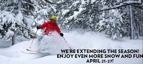 EXCITING NEWS! @breckenridgemtn is extending their season! http://t.co/GJ73jhCCr8 http://t.co/lViIq3Kbqy