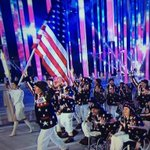 RT @Sochi2014: USA - Waving Old Glory proudly, we welcome the @USParalympics team to the #Sochi2014 #OpeningCeremony