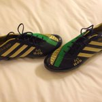 Looking forward to wearing these custom made bad boys tomorrow! Nice one @adidas http://t.co/iL5Cy2LPSR