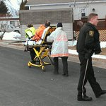 RT @FnMikeArgento: Fire victim being treated by ambulance personnel at Dover Twp. Fire. @ydrcom http://t.co/dbxZLGlptb