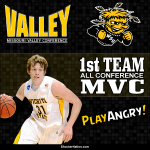 Ron Baker 1st Team All-Conference MVC @RDB_sh31ox #WatchUs #Shockers #WichitaState http://t.co/TQp6h5qPFD