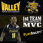 Cleanthony Early 1st Team All-Conference MVC @Clearly_BallLyf #WatchUs #Shockers #WichitaState http://t.co/8E5M6UpoLL