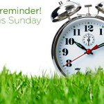 REMINDER to #SpringForward this weekend! http://t.co/vrXgvs9yLI