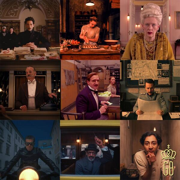 #WesAnderson's brilliant new film #TheGrandBudapestHotel is OUT NOW! Starring #Fiennes #Murray #Norton #Ronan http://t.co/FghoLqoXbA